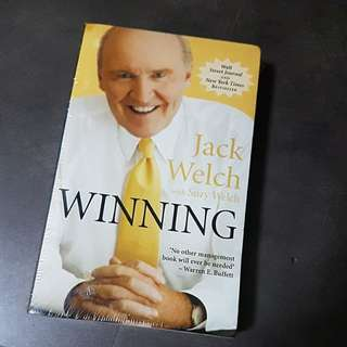 Book on winning in business - Winning by Jack Welch