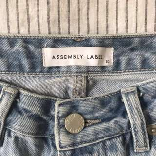 Assembly Label womens fashion jeans