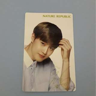 EXO SUHO OFFICIAL NATURE REPUBLIC PC