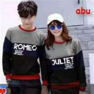 Sweater couple romeo & juliet