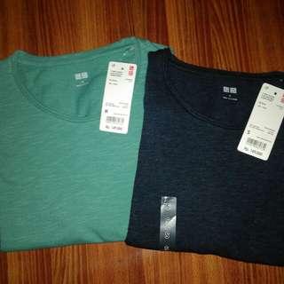 T-Shirt Washed Slub Crew Neck