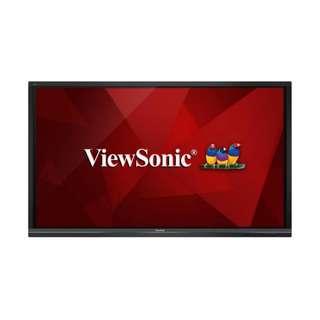 """VIEWSONIC ADVANCED 75"""" ULTRA HD VIEWBOARD INTERACTIVE FLAT PANEL"""
