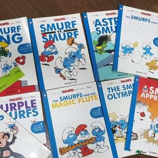 Smurf comics story book 10 books for $20