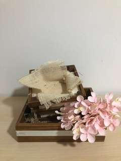 Ring holder for weddings
