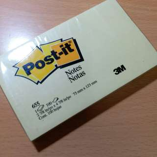 Post it memo (yellow)