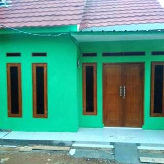 Rumah bangunan baru siap huni di bedahan sawangan Depok