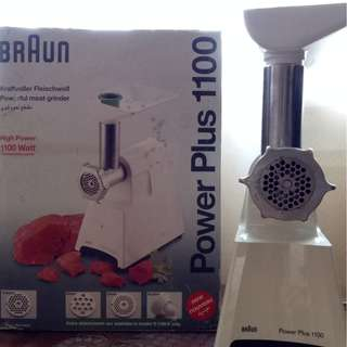 Braun Meat grinder PowerPlus 1100