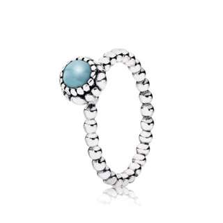 Pandora Turquoise Stone Ring