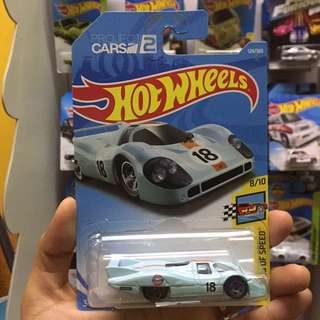 Hot Wheel Porsche 917 LH Hotwheels