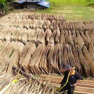 Atap nipah dan atap rumbia