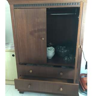 TV Cabinet cum Cupboard