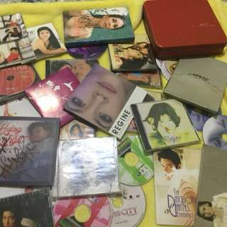 Regine Velasquez book and cd take all for only 1000