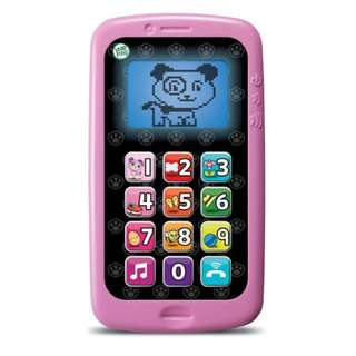 LeapFrog Violet Chat &a Count Cellphone