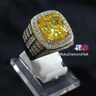 Roku Diamond Ring - Yellow Radiant