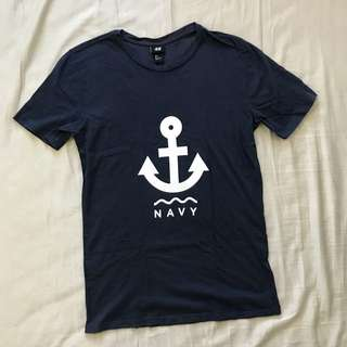 H&M Navy Shirt