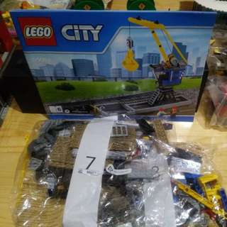 Lego 60098 夾夾吊機(不連路軌)