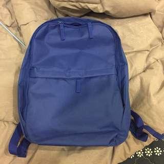 IKEA 全新 藍色 後背包