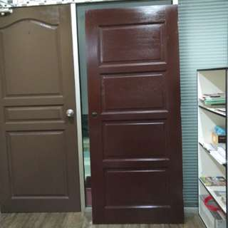 4 Panel solid timber door