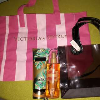 Victoria Secret Bags+Lotion+Perfume