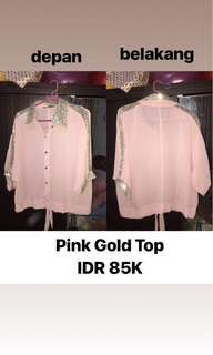 Pink Gold Top