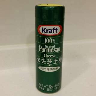 卡夫芝士粉2樽Kraft Grated Parmesan Cheese