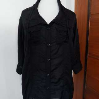 Black Polo Dress (from Japan)