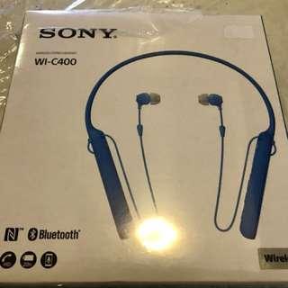 Sony Bluetooth Headset WI-C400