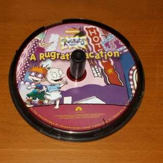 A Rugrats Vacation VCD