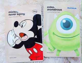 THE FACE SHOP x DISNEY SHEET MASK