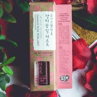 Whamisa organic flowers damask rose petal mist (80ml)