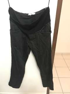 Black Maternity Pants Work Wear
