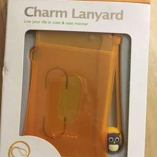 Owl Charm Lanyard