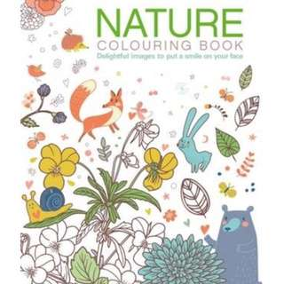 Brand New Nature colouring book