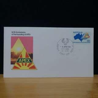 1981年 澳洲 首日封