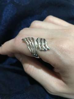 Unisilver Wing Ring
