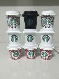 Starbucks Coffee Reusable Mini Cup