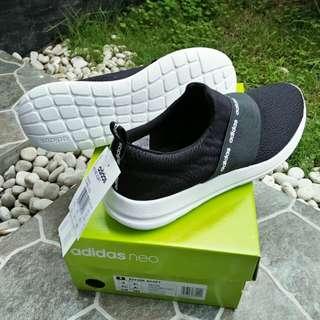 SEPATU ADIDAS Refine Adapt Slip-on black white