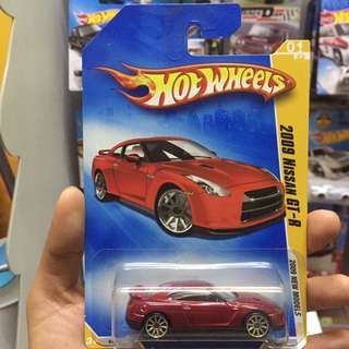 Hot Wheel 2009 Nissan GT-R Hotwheels