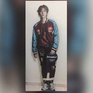 Baekhyun sketchers life size standee