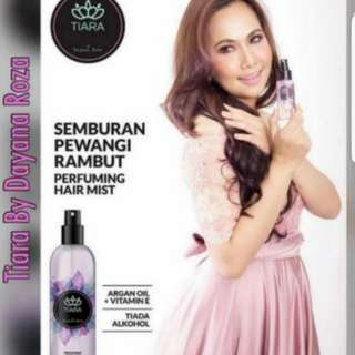 (INSTOCK AVAIL) Authentic Tiara By Dayana Roza Perfuming Hair Mist Spray 60ml PO