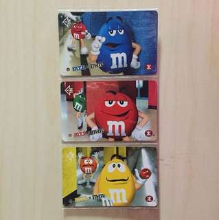 MTR x m&m's Tickets Full Set with package