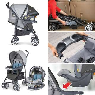 Pre-loved Stroller and Car Seat