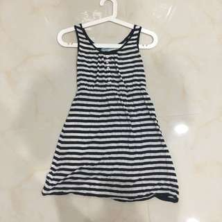 baleno stripe dress