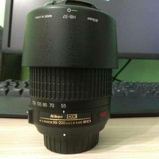 Nikon 55-200mm