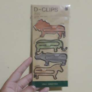 Paper Clip / Bookmark (Animal)