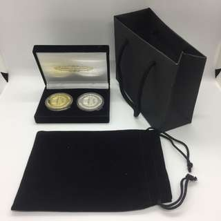 ✅ 2 Coin giftset - Box, pouch, giftbag without coins