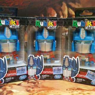 Transformers RUBIKS Optimus Prime