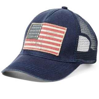 Ralph Lauren Denim and supply American Flag Cap