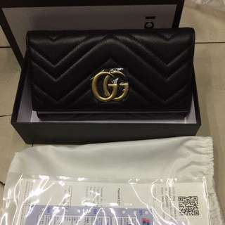 Gucci long wallet High End Quality