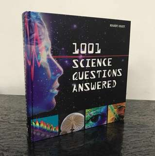 2008 reader's digest 1001 science questions answered